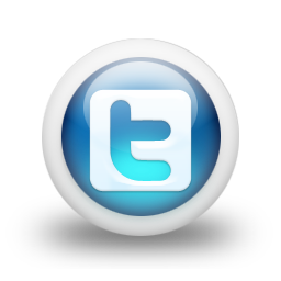 3d Glossy Blue Orb Icon Social Media Logos Twitter Logo Square Midwood Baptist Church