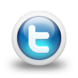 3d Glossy Blue Orb Icon Social Media Logos Twitter Midwood Baptist Church